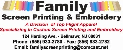 Family Screen Printing & Embroidery